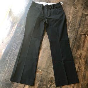 Gap Curvy Flare dress pants 8A low rise